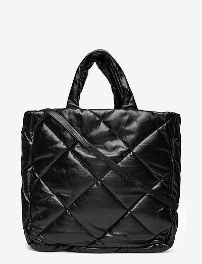 Assante Diamond Bag - shoppers - black