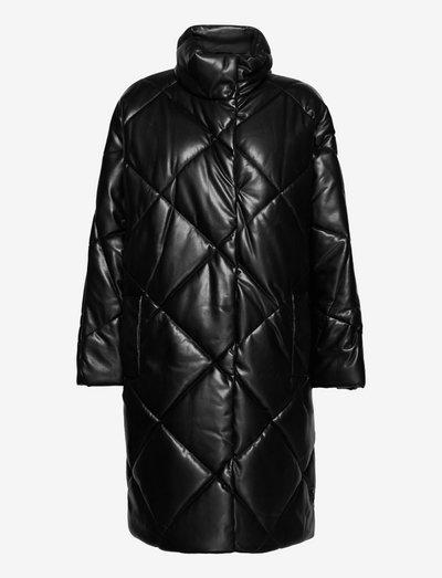 Anissa Coat - daunenmäntel - black