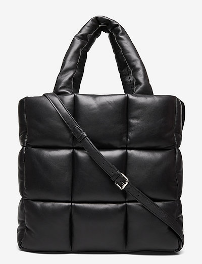 Assante Puffy Bag - shoppingväskor - black