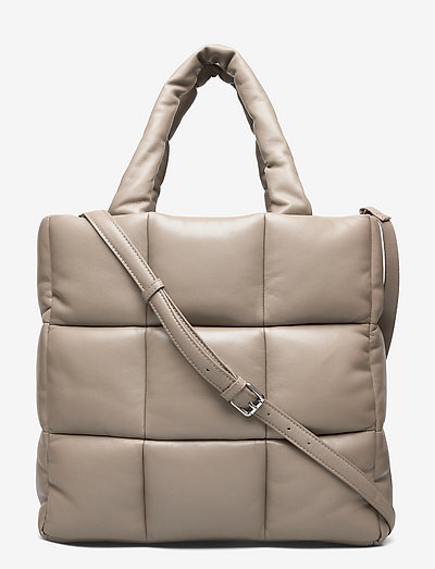 Assante Puffy Bag - shoppers - sandstone beige