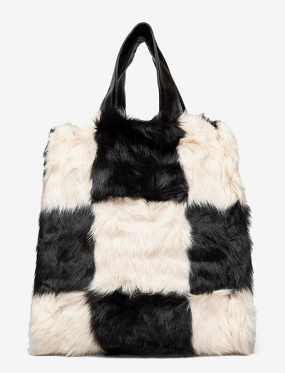 Leia Bag - tote bags - black/white
