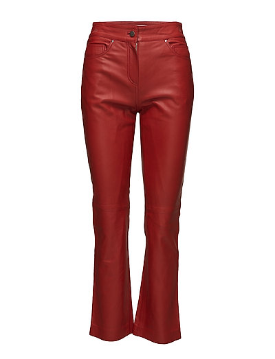 Avery Crop Pants - RED
