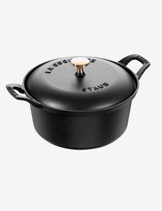 La Coquette - Vintage Round cast iron - kattilat - black