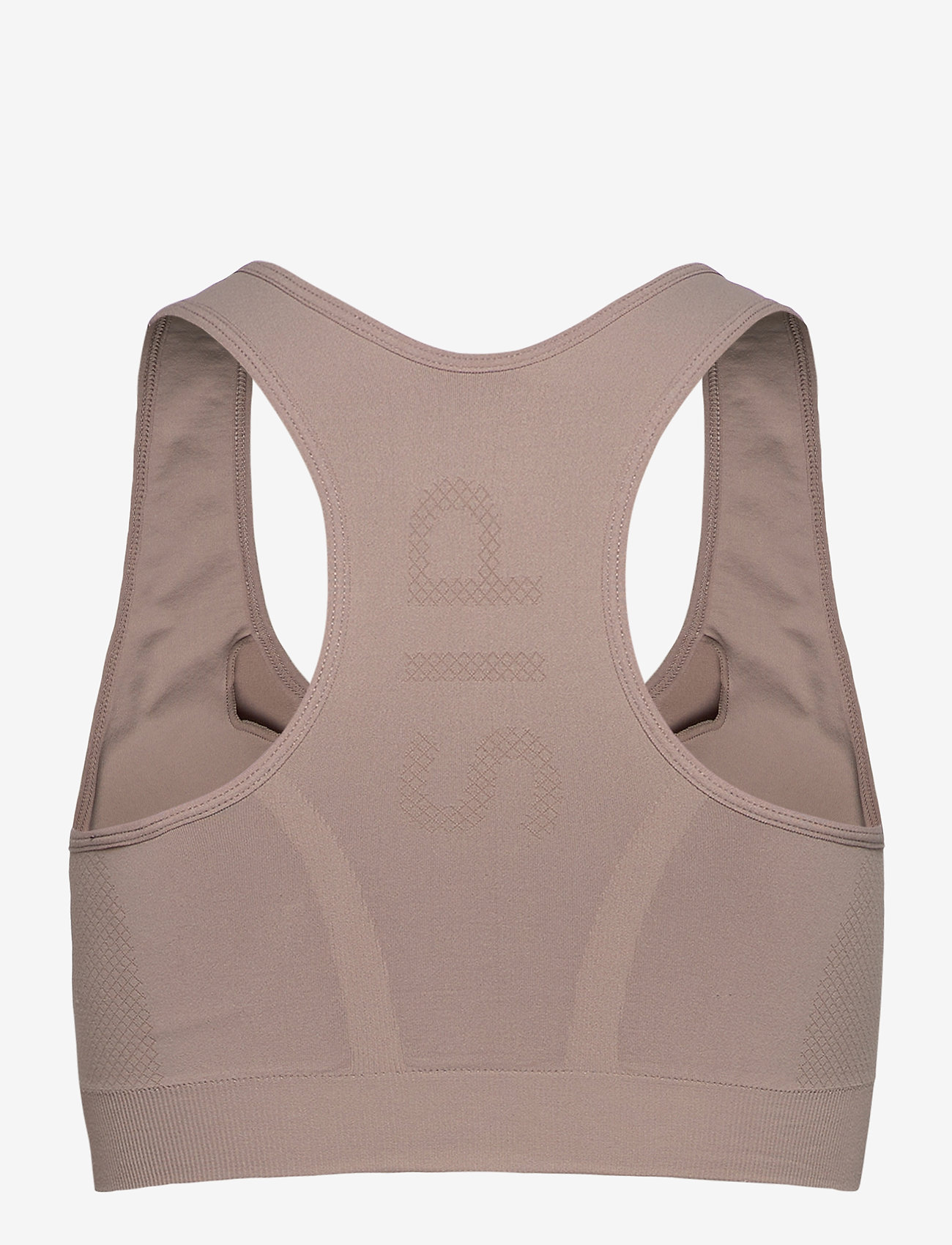 Stay In Place - Rib Seamless Bra - sport-bh: høy - oat latte - 1
