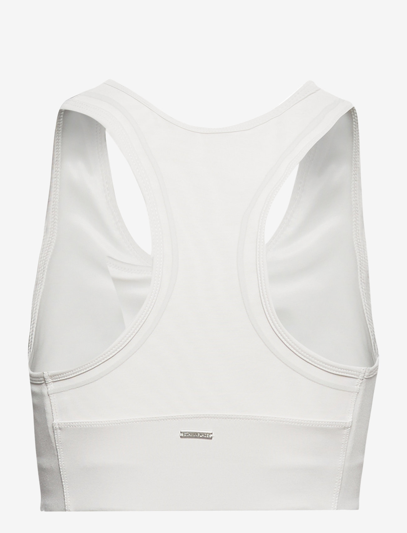 Stay In Place - Compression Sports Bra C/D - sort bras:high - white sand - 1