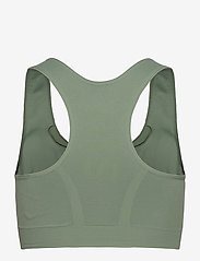 Stay In Place - Rib Seamless Bra - urheiluliivit: medium tuki - aloe green - 1