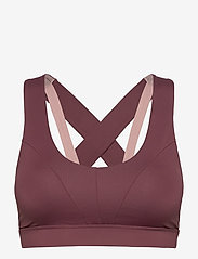 Stay In Place - Energy Sports Bra - sort bras:high - plum pout - 0