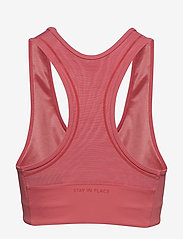 Stay In Place - Compression Sports Bra A/B - sport-bh: medium - faded rose - 2