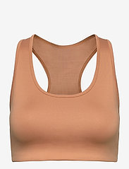 Stay In Place - Compression Sports Bra A/B - sort bras:high - tan line - 0