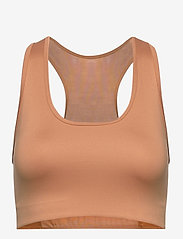 Stay In Place - Compression Sports Bra C/D - sort bras:high - tan line - 0