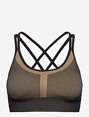 Stay In Place - Seamless Strap Sports Bra - sport bras: medium - bold blonde - 0