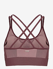 Stay In Place - Seamless Strap Sports Bra - sport-bh: høy - chinchilly - 1