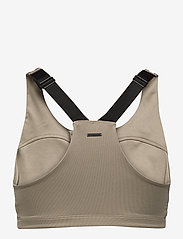 Stay In Place - Front Zip Sports Bra - sort bras:high - martini olive - 1