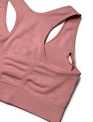 Stay In Place - Rib Seamless Bra - urheiluliivit: medium tuki - tutu pink - 5