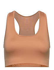 Compression Sports Bra C/D - TAN LINE
