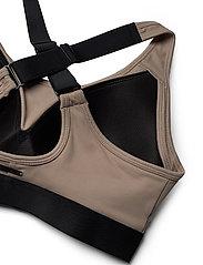 Stay In Place - Padded Crossback Bra - sort bras:high - oat latte - 5