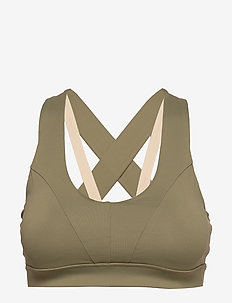 Energy Sports Bra - sport-bh: medium - sahara sage
