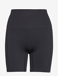 Seamless Biker Tights - black