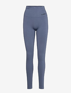Seamless Tights - BLUE VEIL