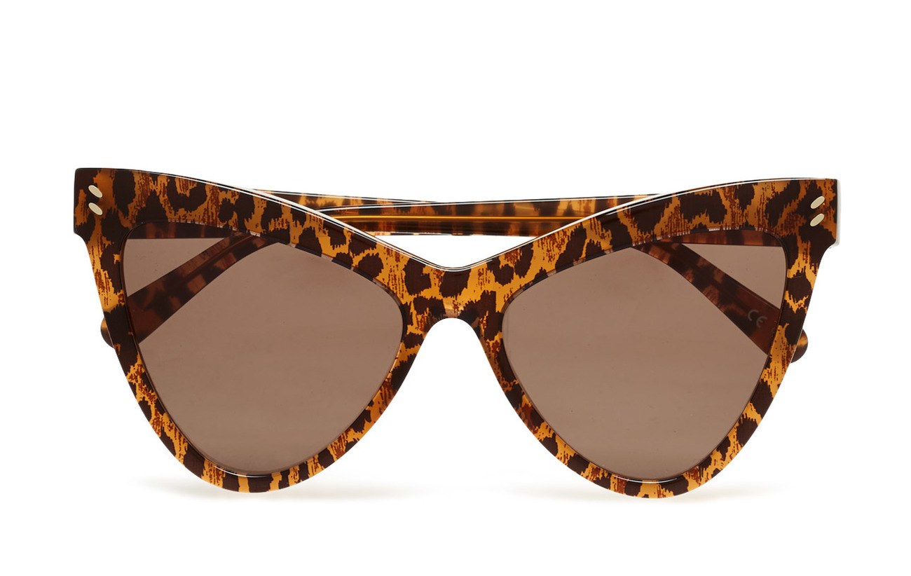 d8c3de6d9075 Sc0034s (Black-black-brown) (£123.75) - Stella McCartney Eyewear ...