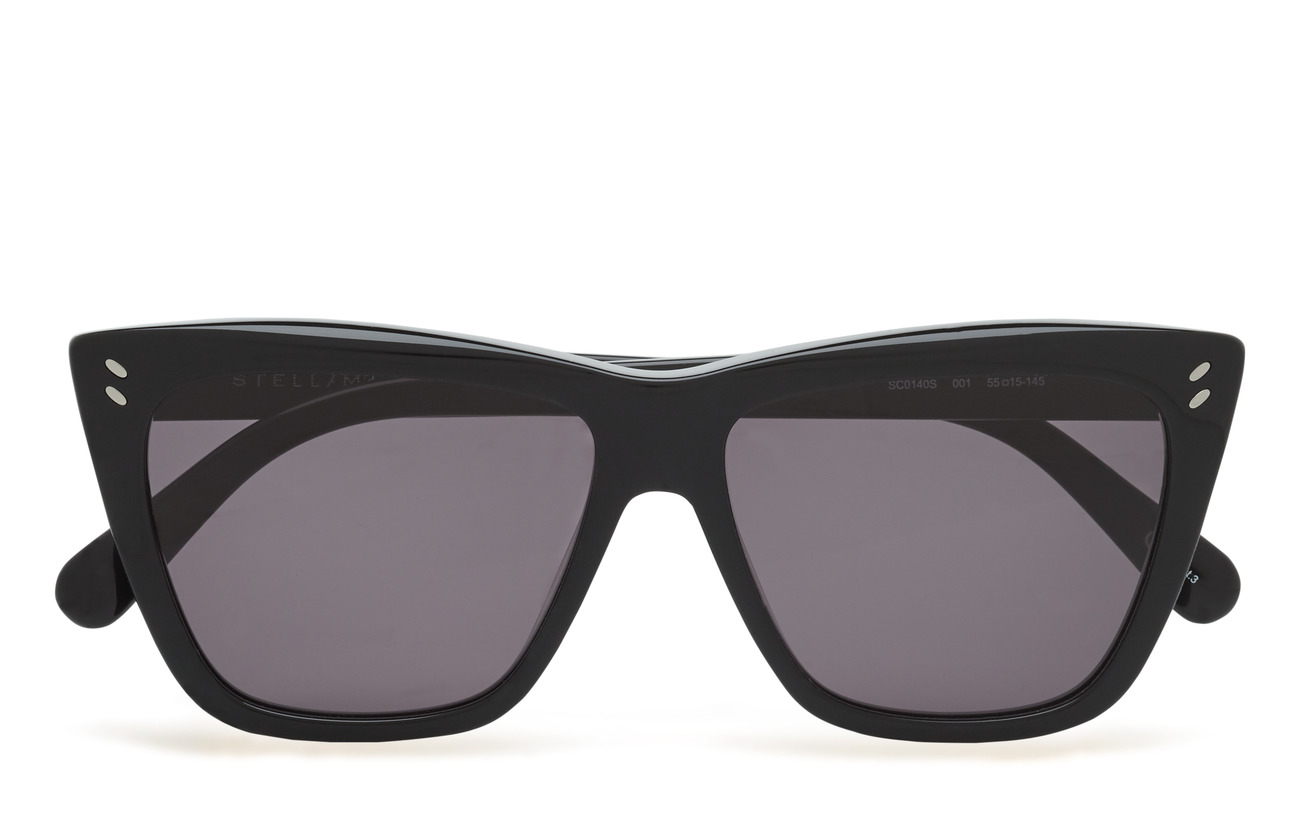 Stella McCartney Eyewear SC0140S - BLACK-BLACK-GREY