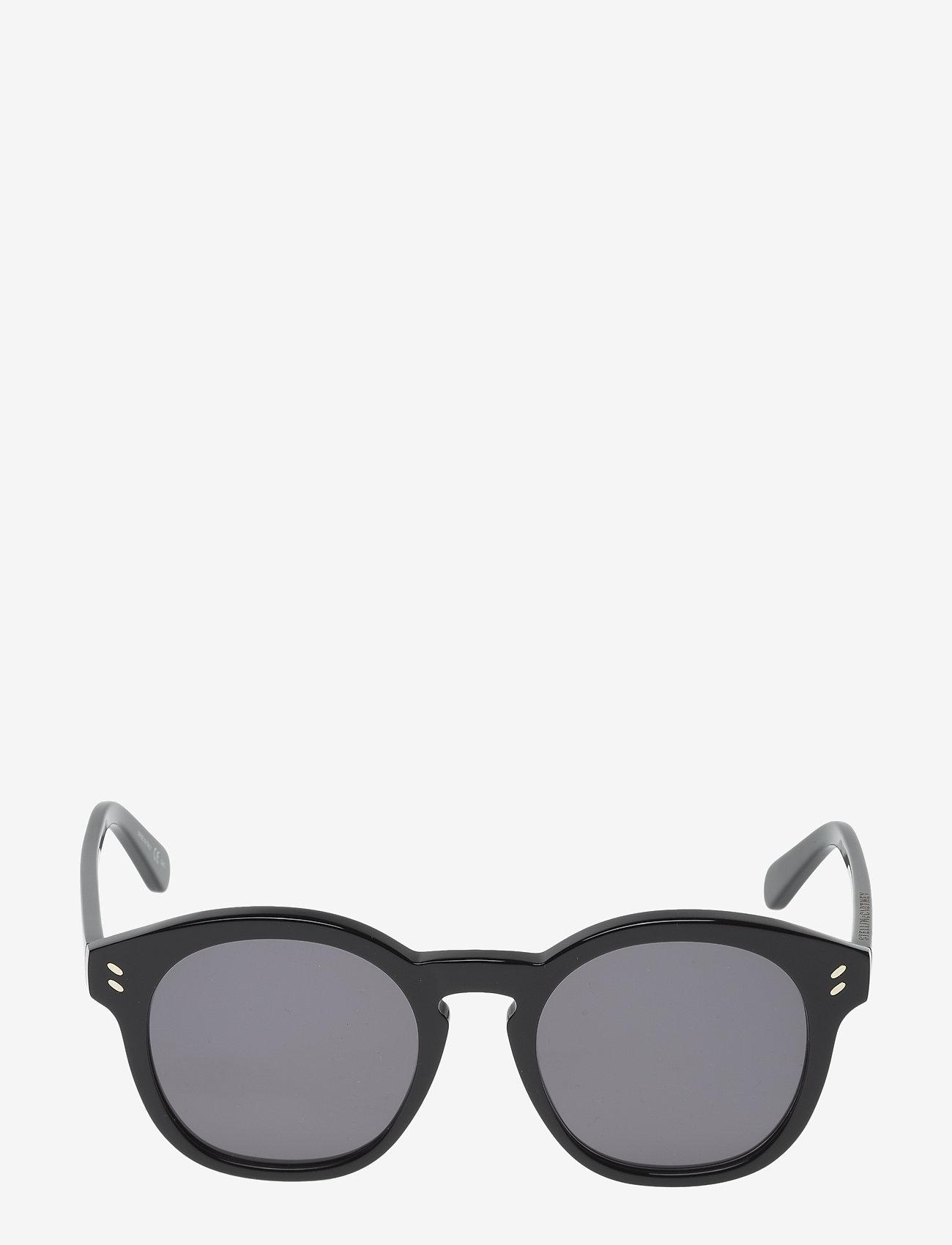 Stella McCartney Eyewear - SC0013S - rond model - black-black-grey - 0