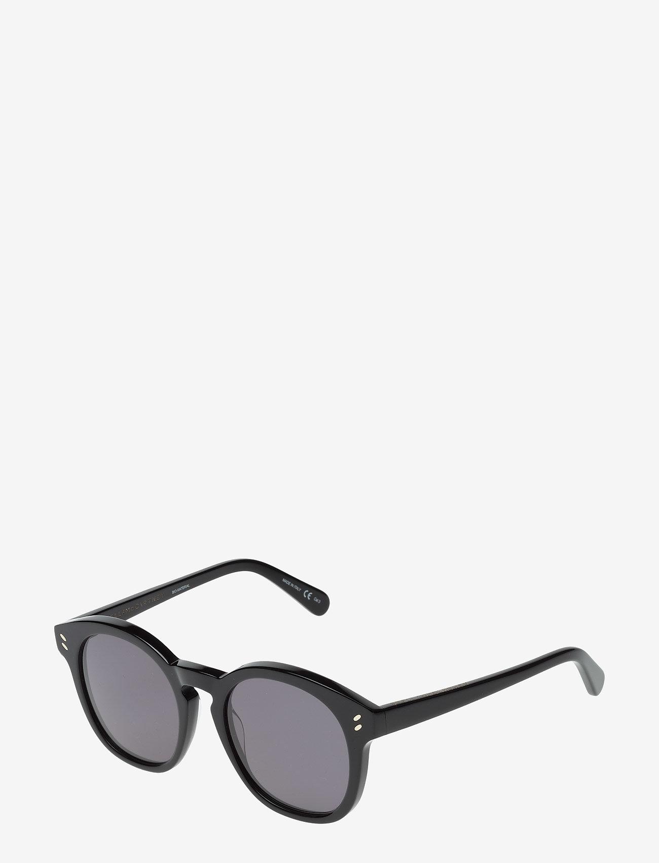 Stella McCartney Eyewear - SC0013S - rond model - black-black-grey - 1