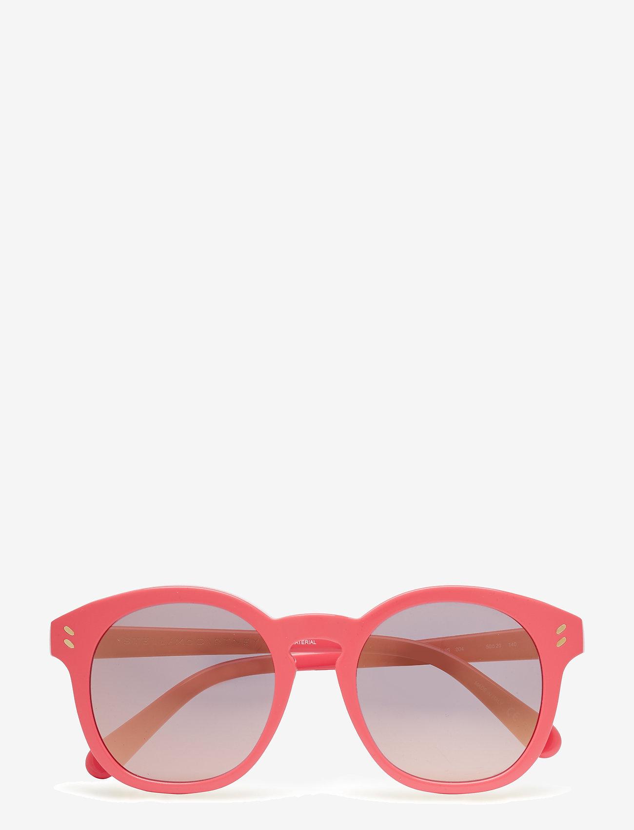 Stella McCartney Eyewear - SC0013S - ar apaļu rāmi - pink-pink-pink - 0
