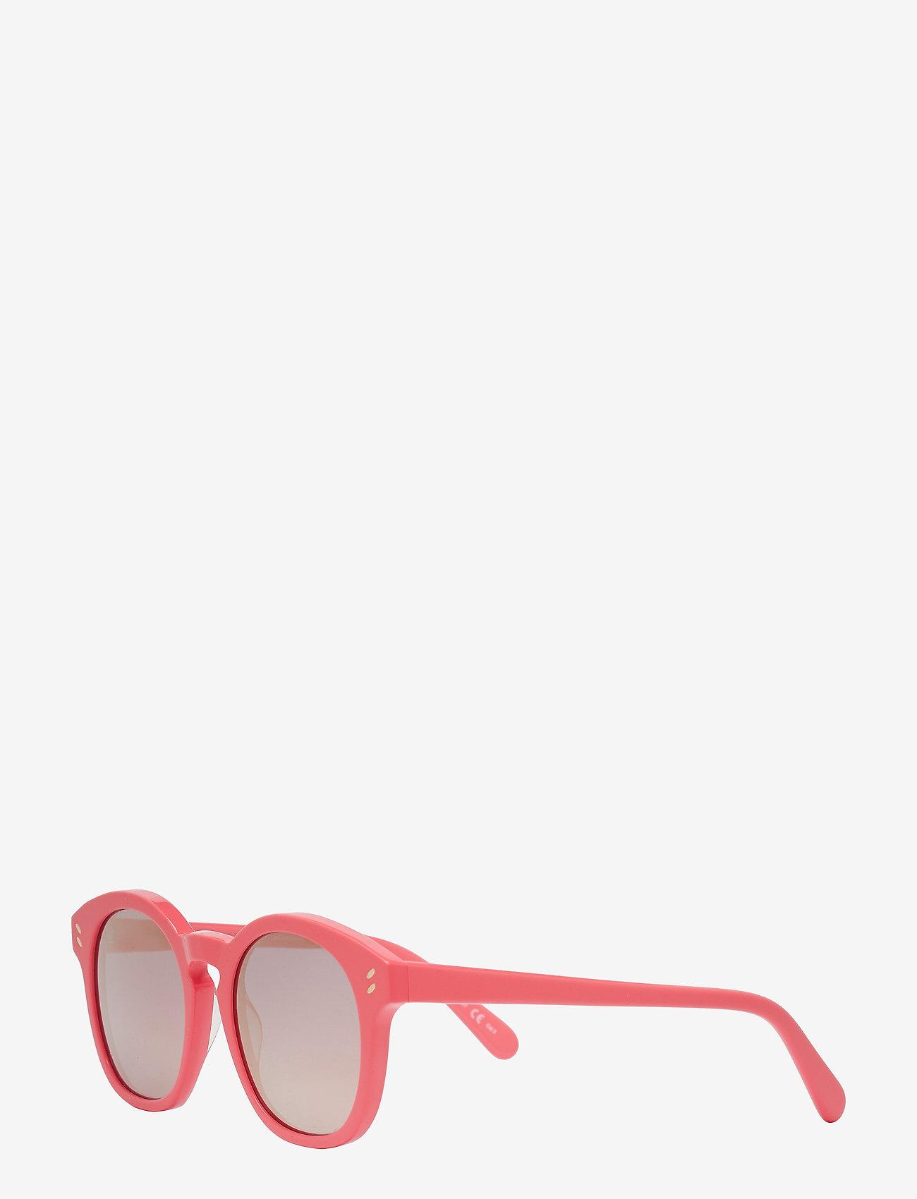 Stella McCartney Eyewear - SC0013S - ar apaļu rāmi - pink-pink-pink - 1
