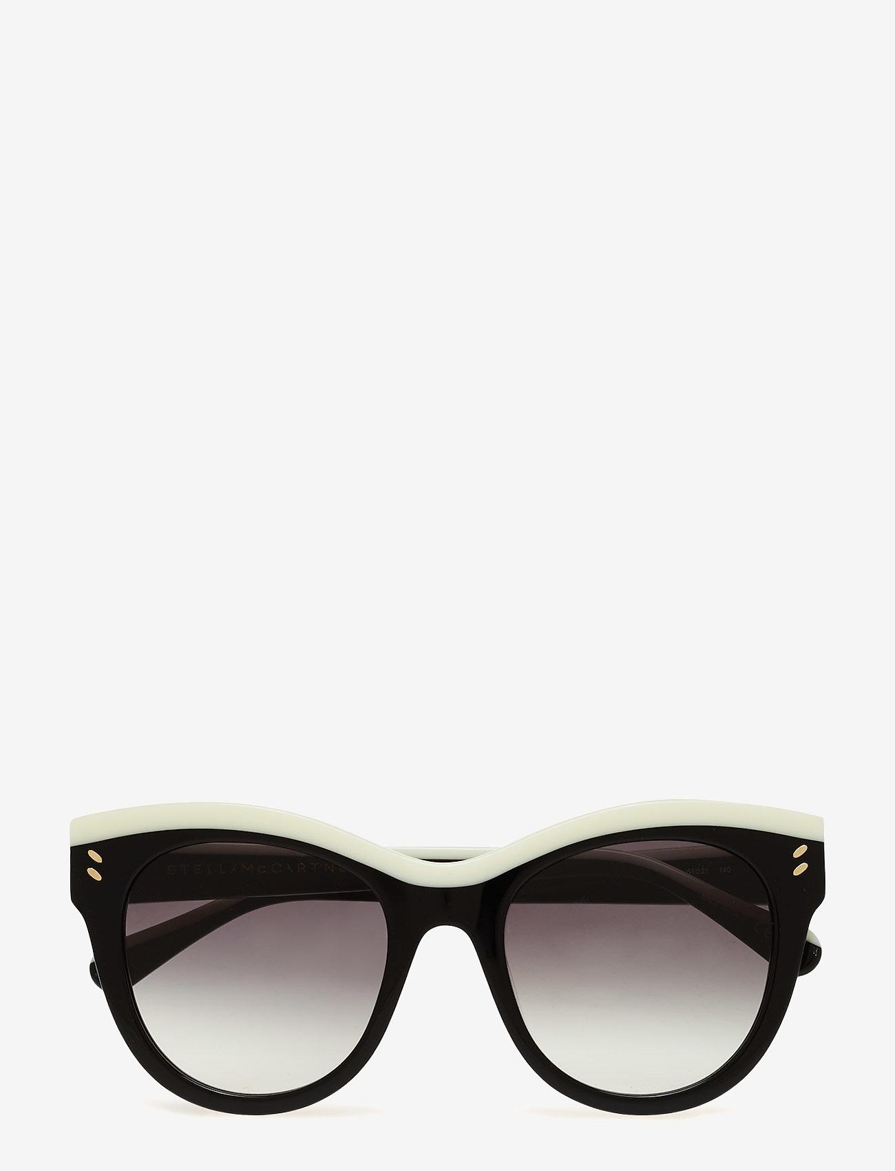 Stella McCartney Eyewear - SC0021S - cat-eye - black-black-grey - 1
