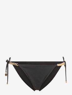 FALABELLA - side tie bikinitrosor - black