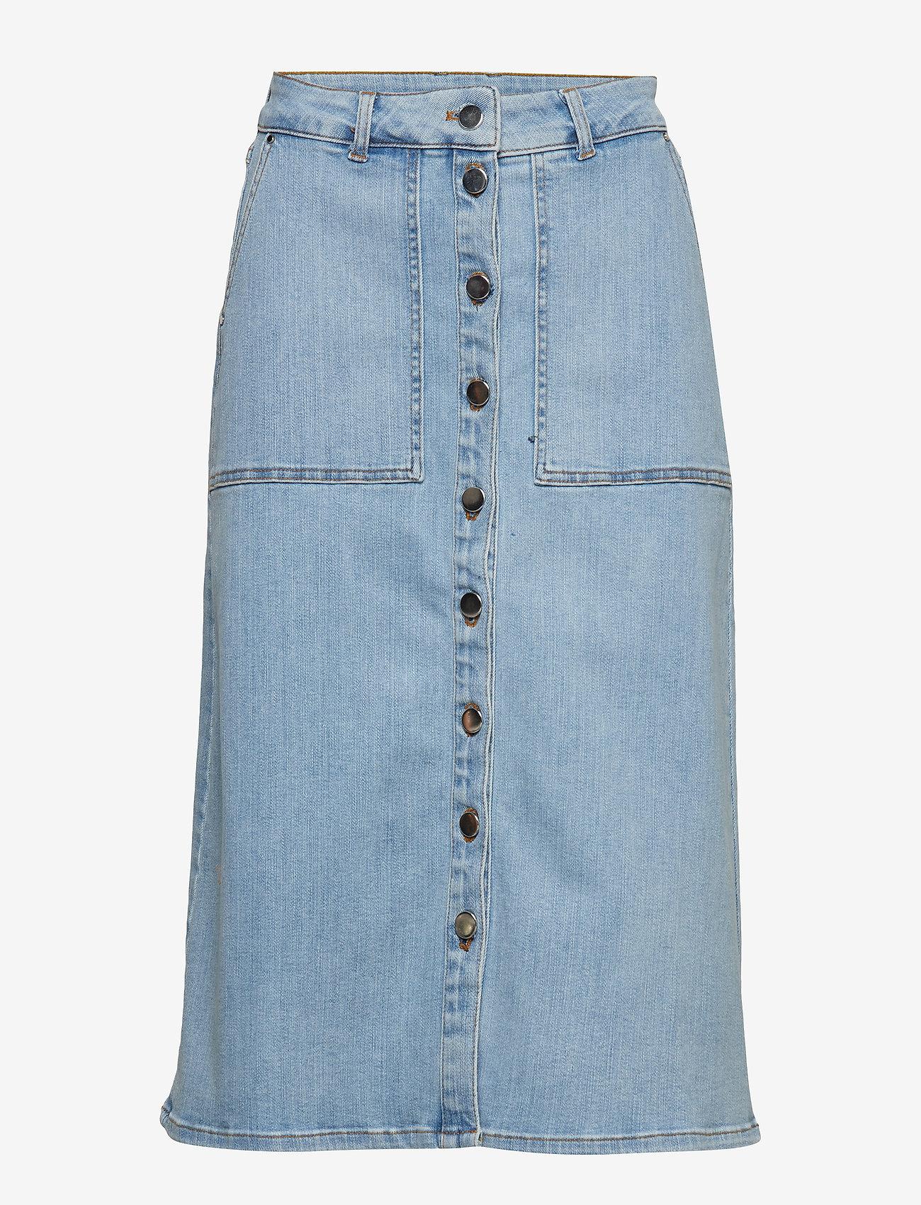 Stella Nova - Wenya - jupes en jeans - solitude blue