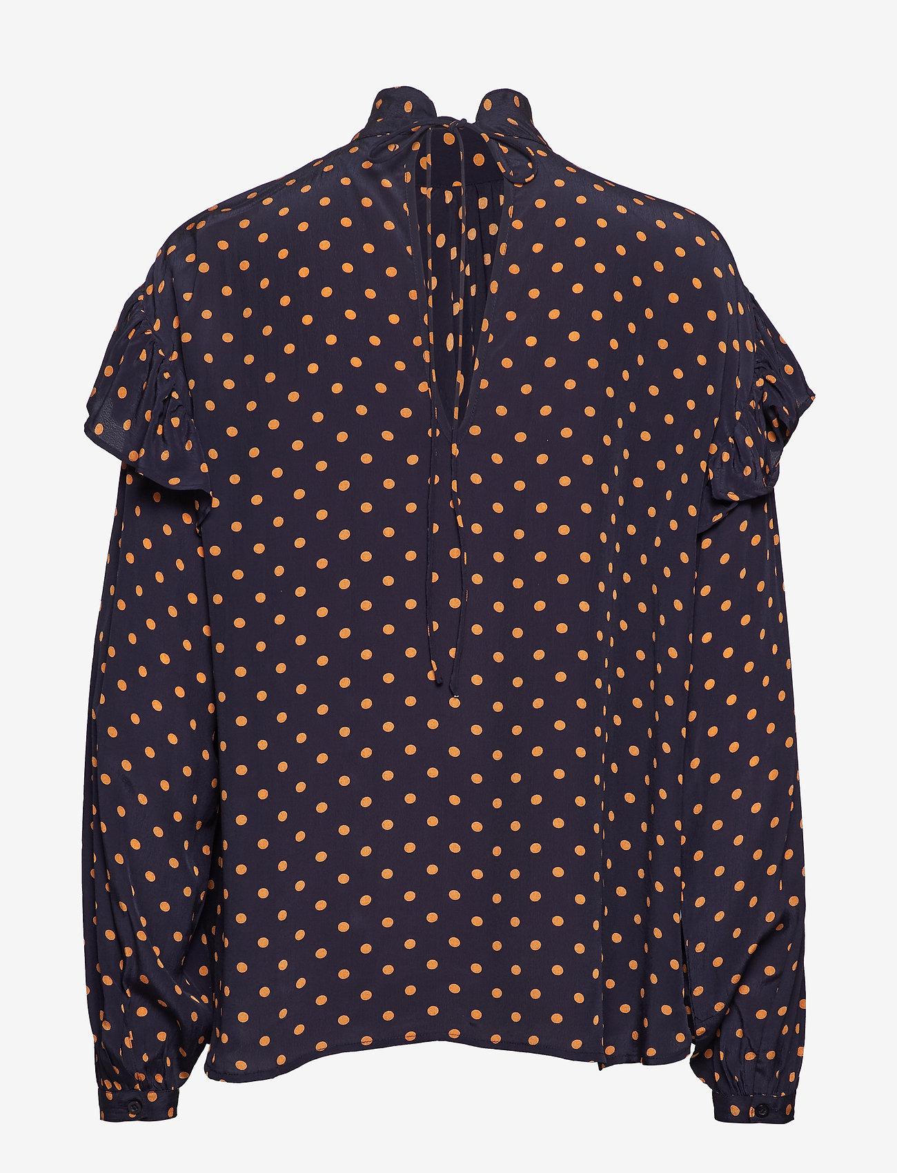 Stella Nova Cleo - Blouses & Shirts NAVY ORANGE
