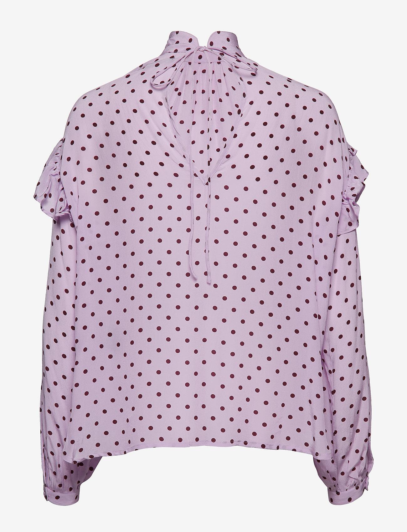Stella Nova Cleo - Blouses & Shirts PURPLE BURGUNDY
