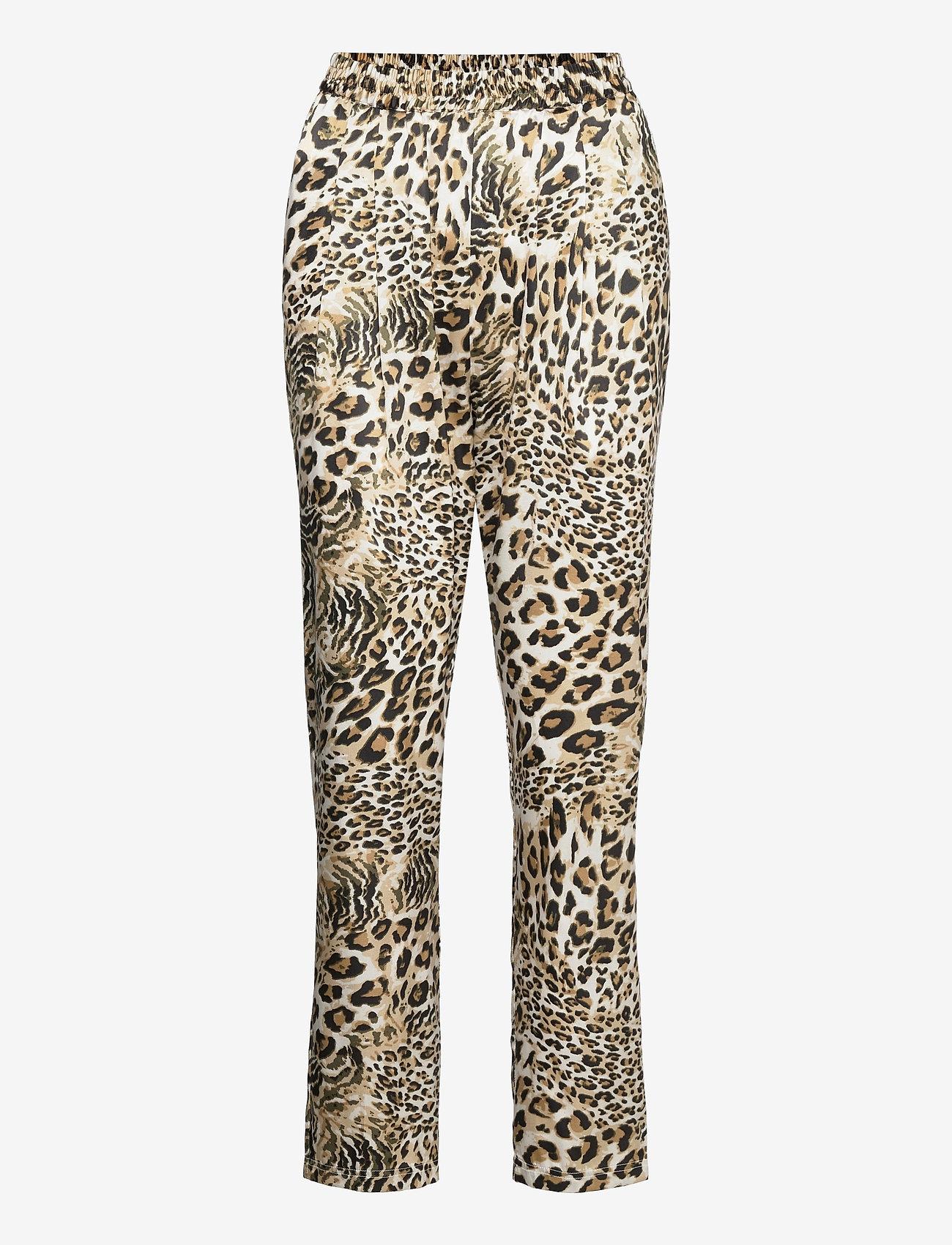 Stella Nova - Mendi - casual trousers - leopard - 0
