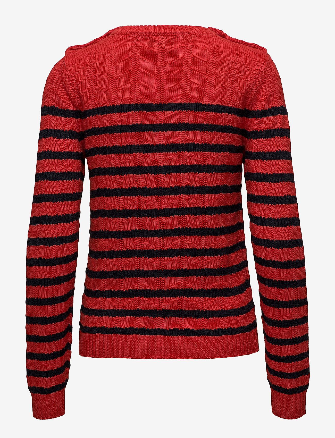 Cotton/wool (Red/navy) - Stella Nova dCHgco