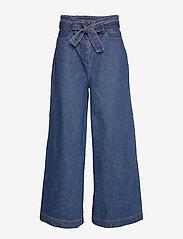 Stella Nova - Mino - broeken met wijde pijpen - blue jeans blue - 0