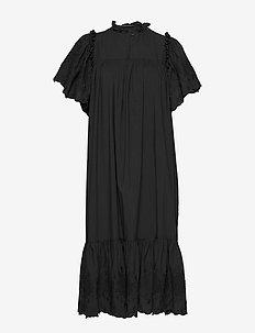 Pen - midi jurken - black