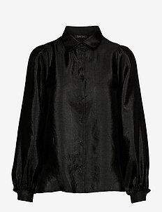 Macy - overhemden met lange mouwen - black