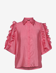 Lycie - long sleeved blouses - rosebud pink