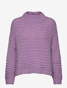 Kira - gensere - dusty purple