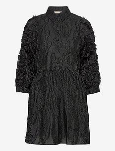 Jocelyn - blousejurken - black