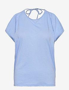 Cotton Jersey - HAPPY BLUE