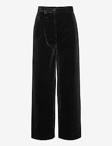 Miv - uitlopende broeken - black