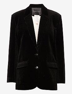 Molly - oversized blazers - black