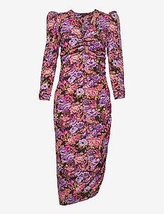 Aida - midi kjoler - pink purple tones
