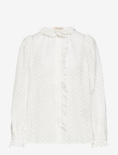 Yolonda - blouses à manches longues - white