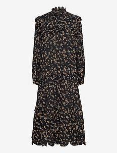 Loan - midi kjoler - black fall
