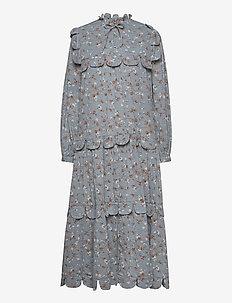 Loan - midi kjoler - blue fall