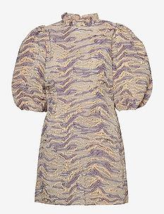 Aggis - festklänningar - purple tiger